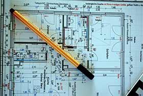Bauabnahme Bauplan beispiel